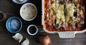 Postpartum Mexican Lasagna