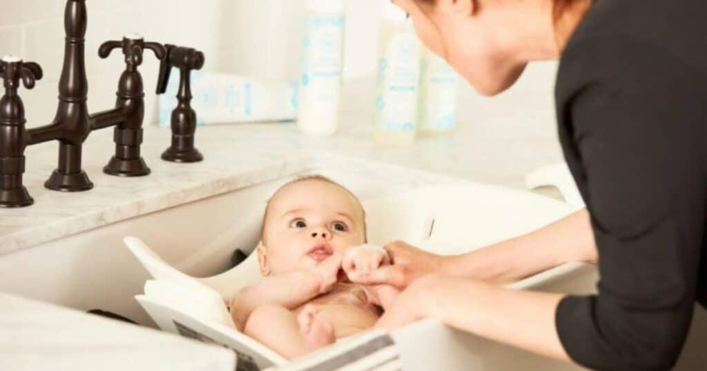 delay babys first bath